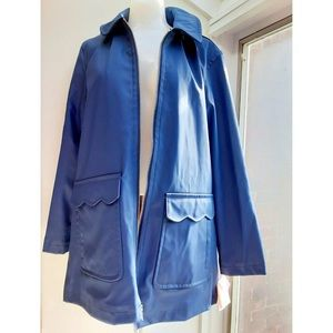 NWT Kate Spade Hooded Trench Raincoat